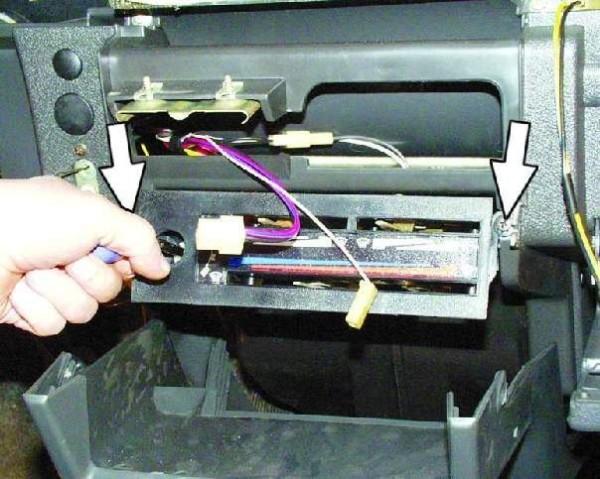 Замена радиатора отопления ваз 21093