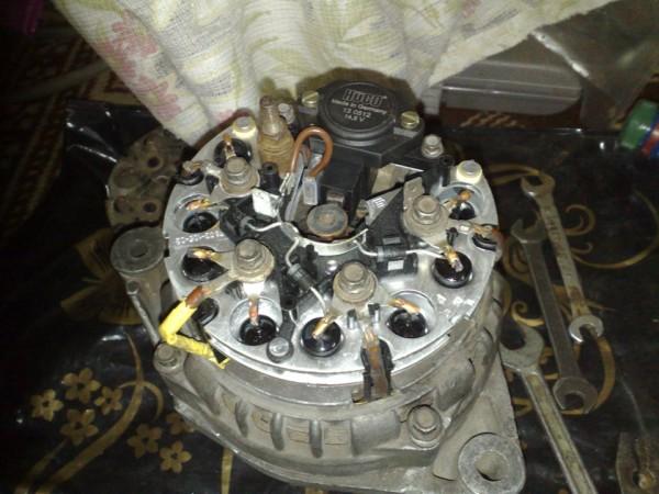 Замене генератора ваз 21102