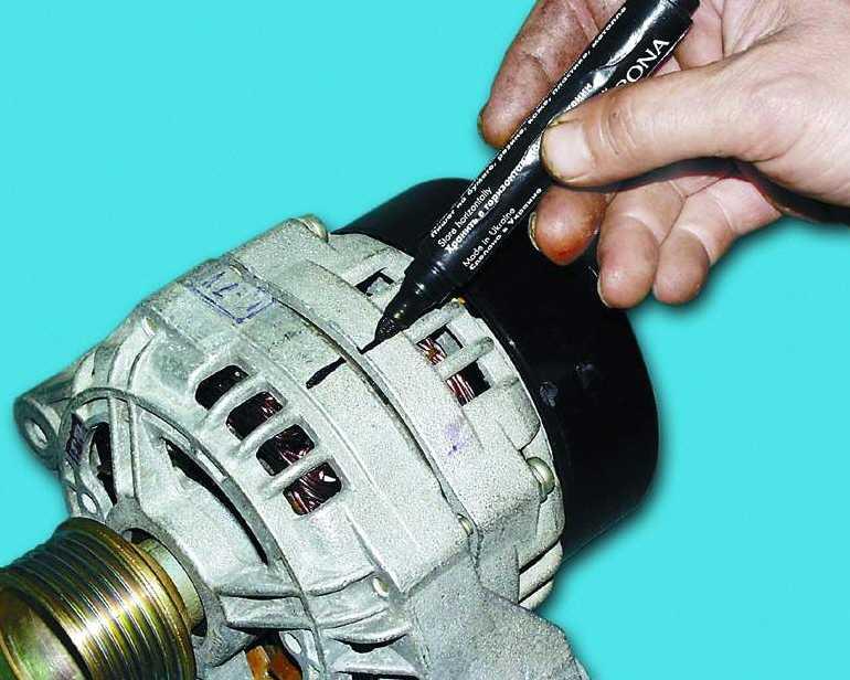 Замена генератор на ваз 2112