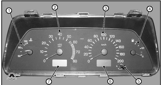Приборная панель ВАЗ 2110
