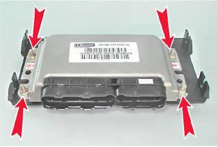 Блок управления двигателем автомобиля ВАЗ 2112