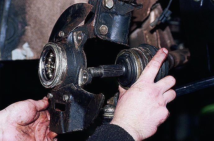 Фото №29 - замена наружной гранаты ВАЗ 2110 своими руками