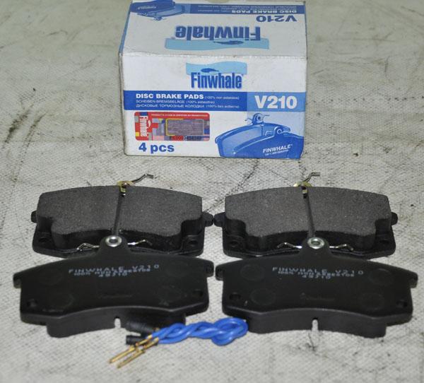 Неплохой выбор – тормозные колодки Finwalle для ВАЗ 2112