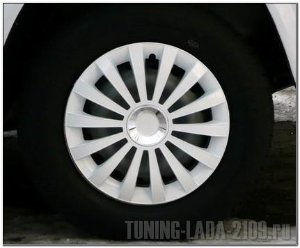 Открытый дизайн крышки колеса