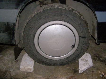 Пример закрытого колесного колпачка