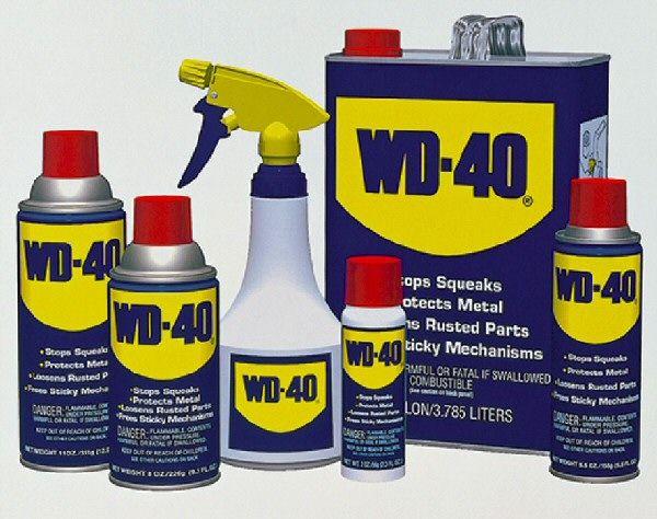 WD-40 – без этого не обходится ни один ремонт