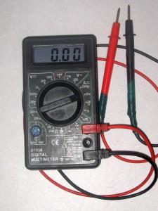 Контрольная лампа зарядки аккумуляторной батареи ваз  Мульти тестер