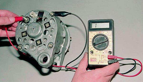 Специальный прибор для проверки диодного моста