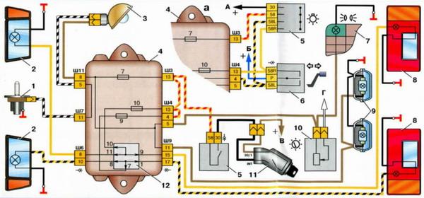 Ваз 2109 неисправности электропроводки