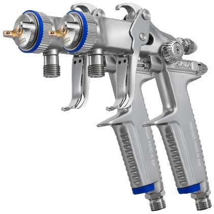 Специальный пистолет помогающий наносить гравийспрей