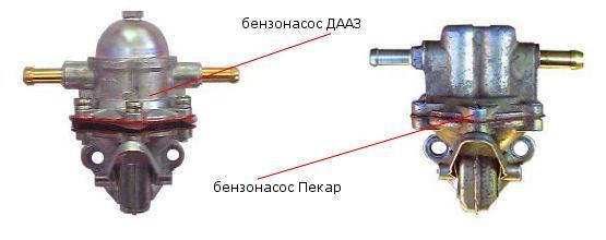 Ваз 2109 неисправность бензонасоса, типы бензиновых насосов ВАЗ