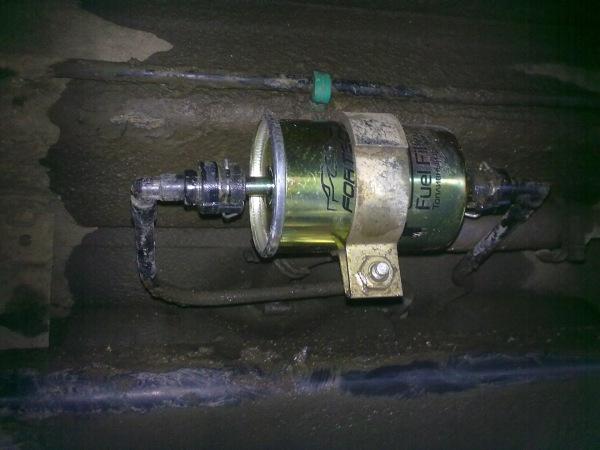 Ваз 21124 замена топливного фильтра