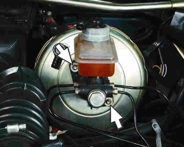 Ваз 2115 замена вакуумного усилителя