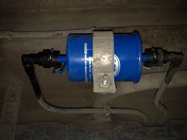 Замена топливного фильтра на ваз 2112