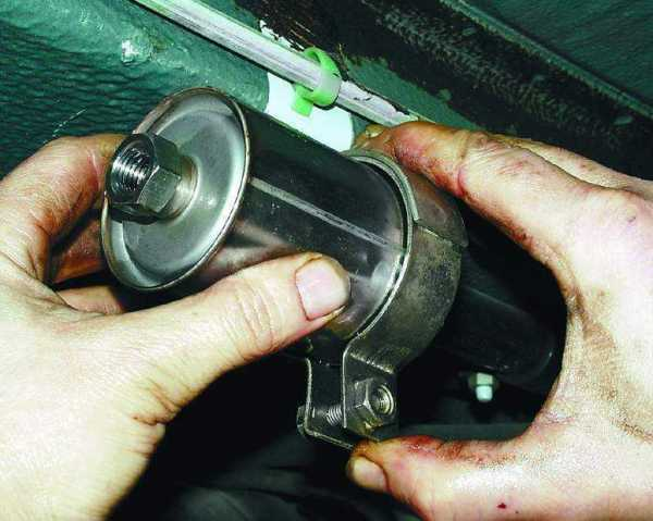 Замена топливного фильтра ваз 21124