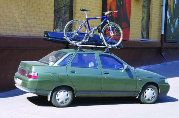 Багажник на крышу ваз 2112 может прикрутить любой