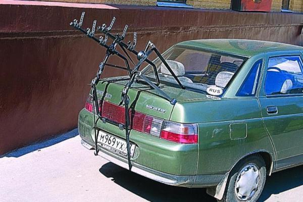 Пример - багажник сзади