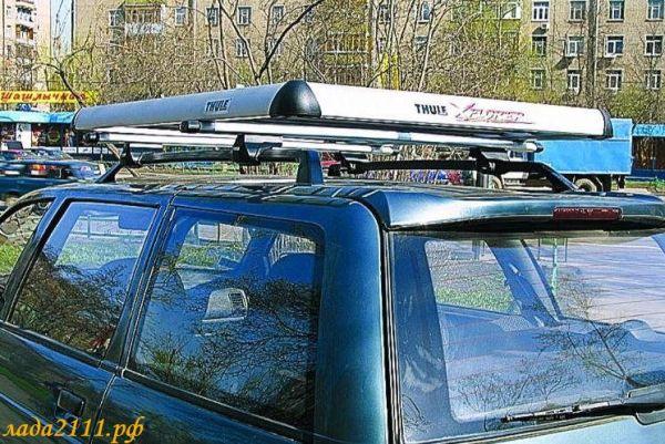 Вариант багажника на крыше машины