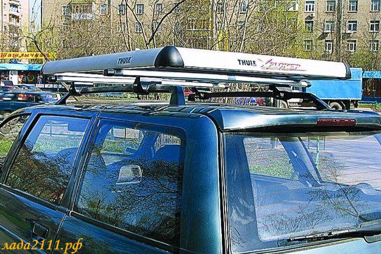 Багажник на крышу автомобиля 2111 своими руками 33