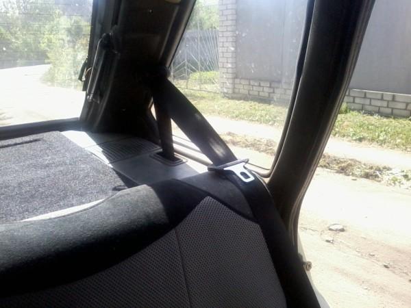 Ваз 2109 задние ремни безопасности
