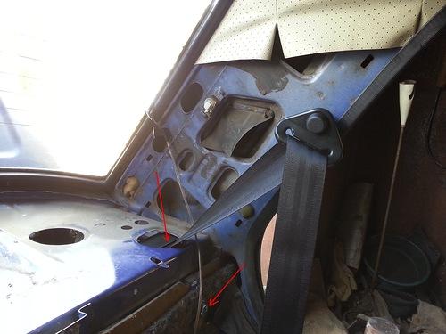 Ваз 21093 задние ремни безопасности
