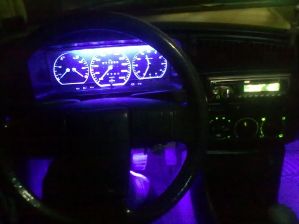 Ваз 2109 подсветка спидометра
