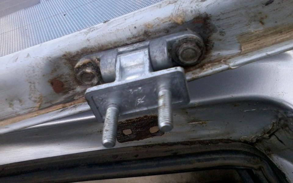 Ваз 2109 замена двери багажника