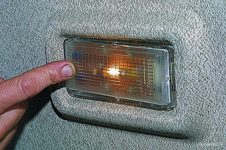 Ваз 2109 освещение в салоне
